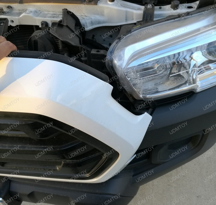 General Install Guide For Back of Grille Truck LED Light Bar