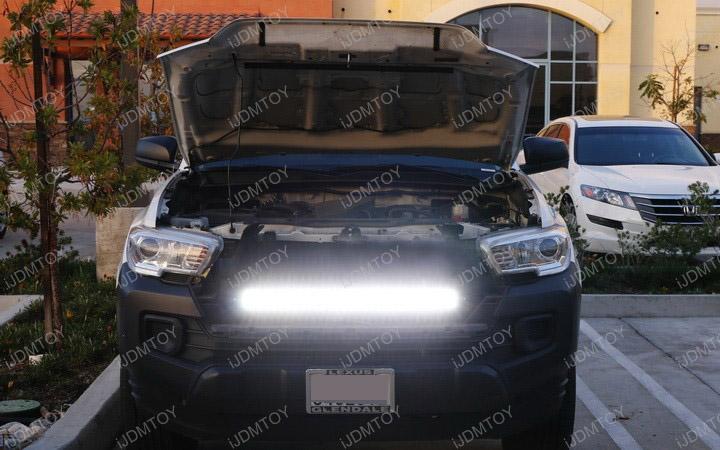 Install Toyota Tacoma LED Light Bar
