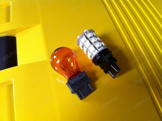 Chevy Camaro Switchback 3157 LED Turn Signal Light Bulbs 3