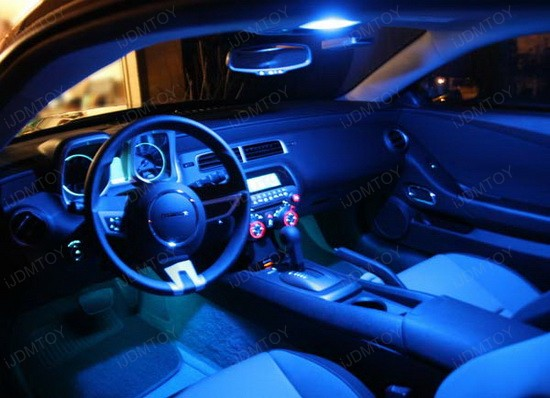 2011 chevy camaro equipped with led interior dome lights ijdmtoy blog for automotive lighting. Black Bedroom Furniture Sets. Home Design Ideas