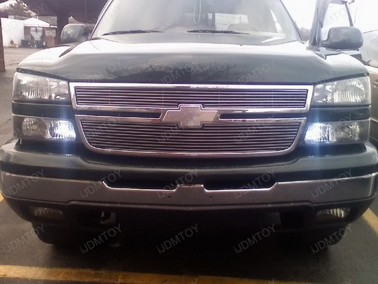 Chevrolet Silverado 3157 LED DRL Driving Lights 1