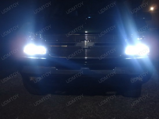 Chevrolet Silverado 3157 LED DRL Driving Lights 4