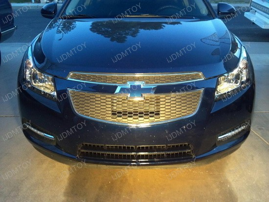 Chevy Cruze LED Daytime Running Lights 1