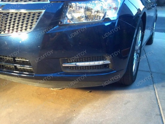 Chevy Cruze LED Daytime Running Lights 4