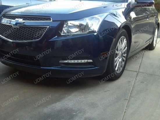 Chevy Cruze LED Daytime Running Lights 5