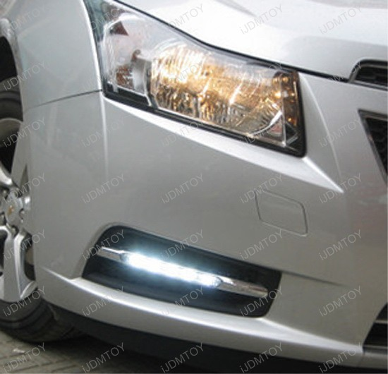 Chevy Cruze High Power LED DRL 2