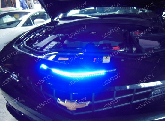 led knight rider scanner light on chevy camaro ijdmtoy. Black Bedroom Furniture Sets. Home Design Ideas