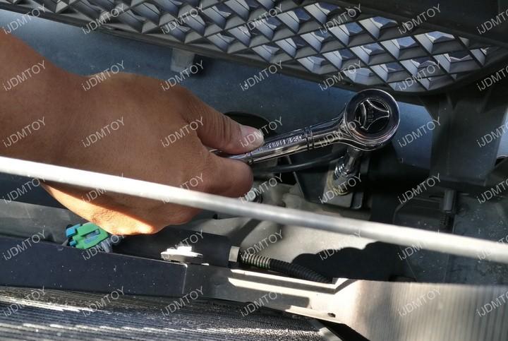 Chevy GMC LED Light Bar 07