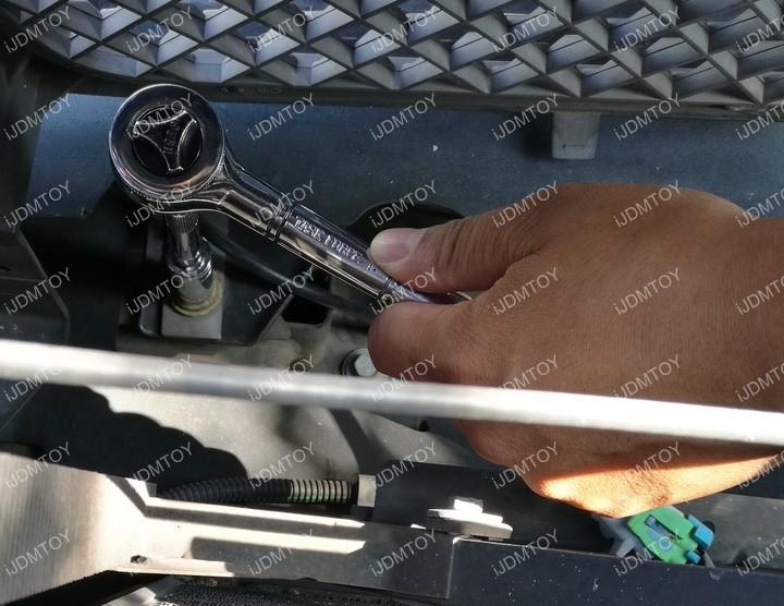 Chevy GMC LED Light Bar 12