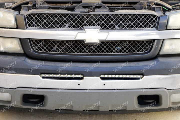 Chevy GMC LED Light Bar 13