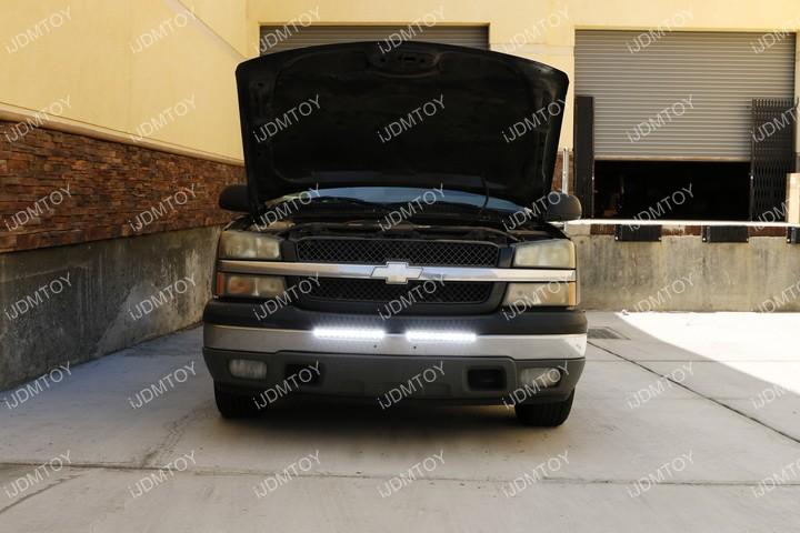 Chevy GMC LED Light Bar 14
