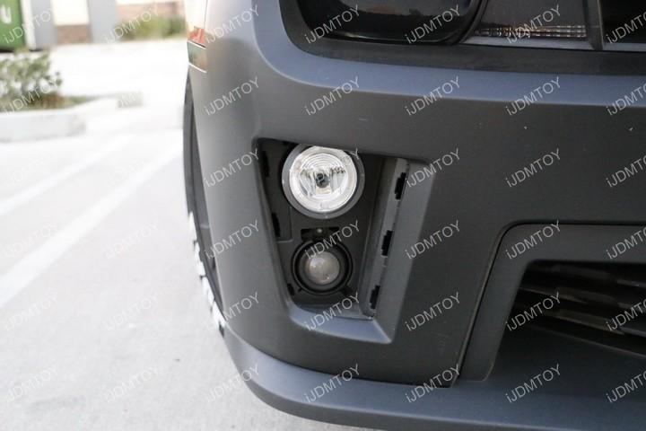 Install Chevy Camaro Halo Fog 09