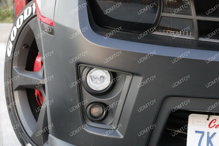 Install Chevy Camaro Halo Fog 10