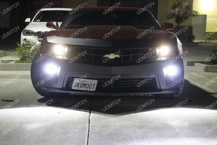 Install Chevy Camaro Halo Fog 13