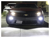 2010-2013 Chevy Camaro LED Daytime Running Light/Fog Lamp Installation