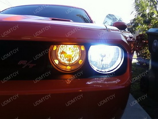 Dodge Challenger Switchback LED Turn Signals
