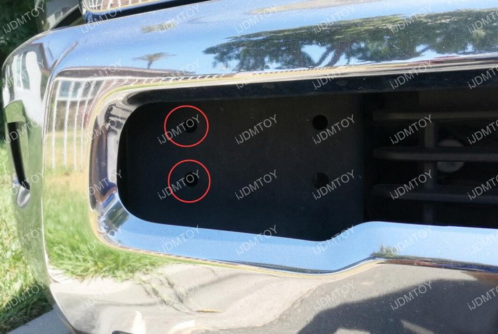 Dodge Ram LED Light Mount 01