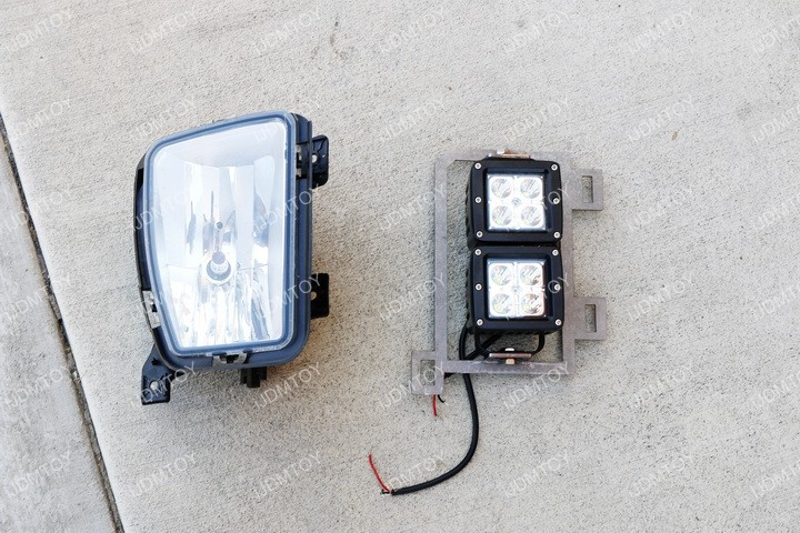 Install Dodge RAM LED Pod Light