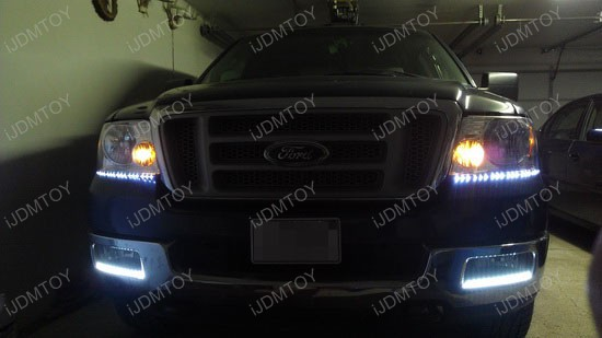 Ford F-150 LED Headlight Decoration Strips 1