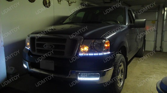 2004 Ford F 150 Gets Nice Led Headlight Decoration Strips