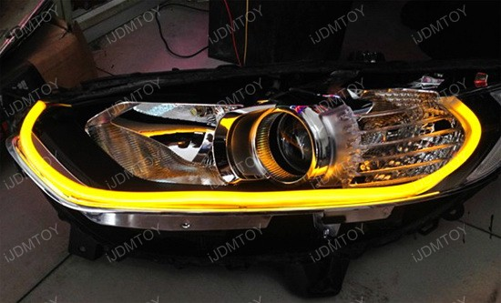 Switchback LED Headlight Strip 01