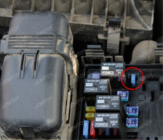 how to install daytime running lights on ford fusion ... 2014 fusion fuse box location 2011 ford fusion fuse box location