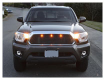 How to Install Raptor Style LED Grille Lighting Kit