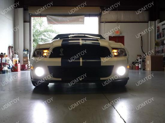 Ford Mustang LED Fog Light Conversion Kit 01