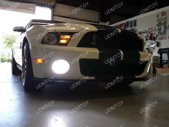 Ford Mustang LED Fog Light Conversion Kit 03