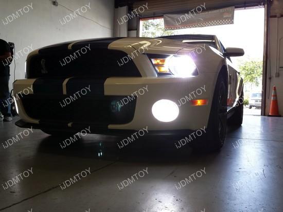 Ford Mustang LED Fog Light Conversion Kit 04