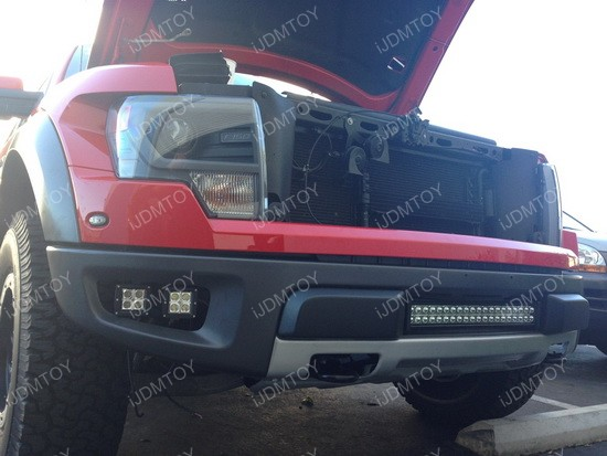 Ford Raptor LED cube fog light 02