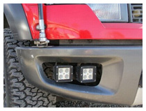 Ford Raptor LED Quad Fog Lights Installation