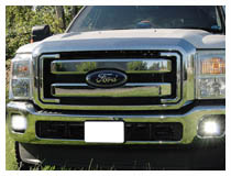 Ford F250 F350 LED Fog Light Kit Installation