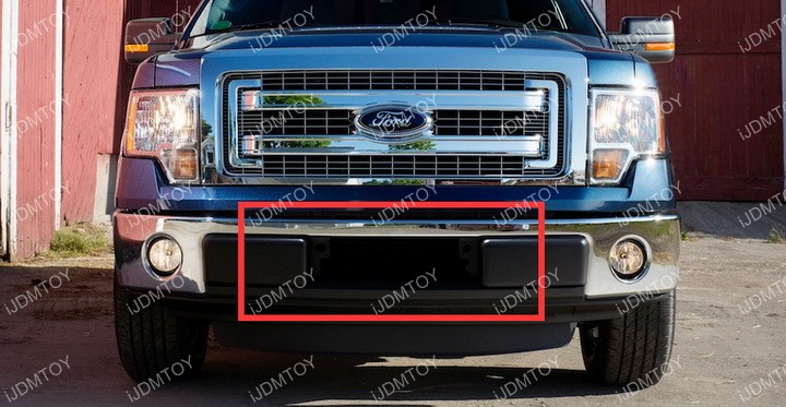 Install Ford F150 LED Light Bar 02
