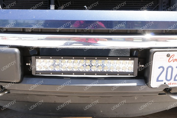 Install Ford F150 LED Light Bar 14