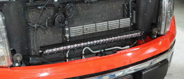 Install Ford F150 LED Light Bar Kit 03