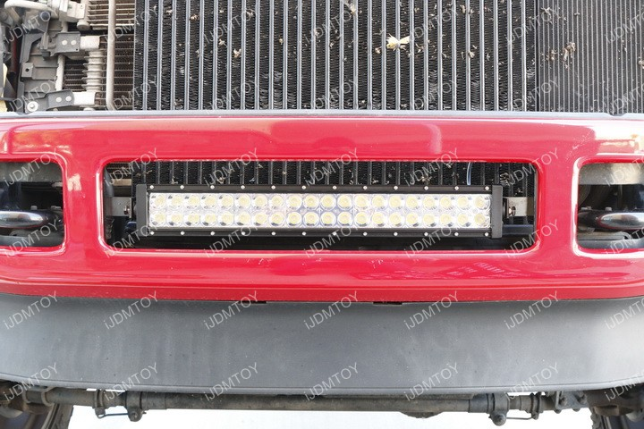 Ford F250 LED Light Bar Installation
