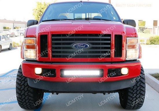 Ford F250 LED Light Bar Combo 02