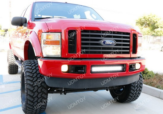 Ford F250 LED Light Bar Combo 04