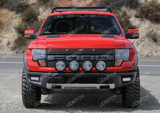 Ford raptor svt led fog light system ijdmtoy blog for automotive ford raptor 36w led fog aloadofball Choice Image