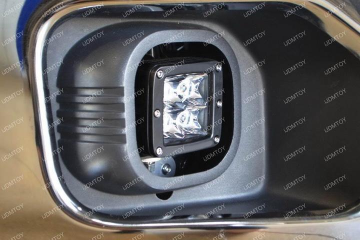 Install Ford F250 LED Fog Light