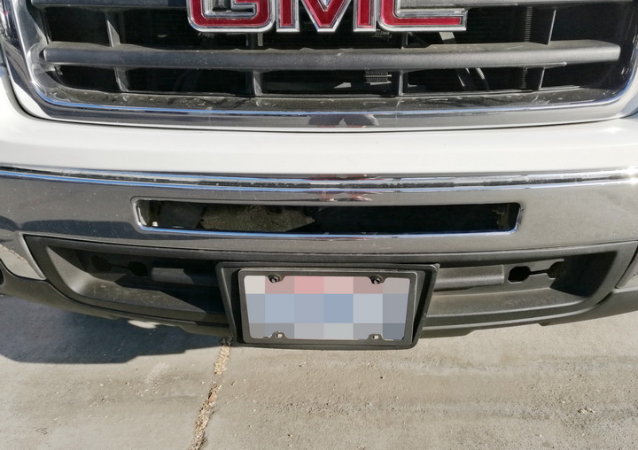 GMC LED Light Bar Install 03