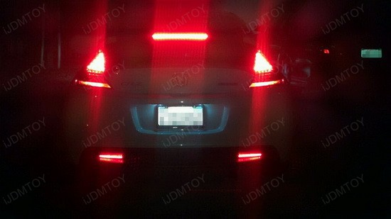 Honda CRZ LED Reflector Lens 1