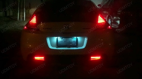Honda CRZ LED Reflector Lens 4