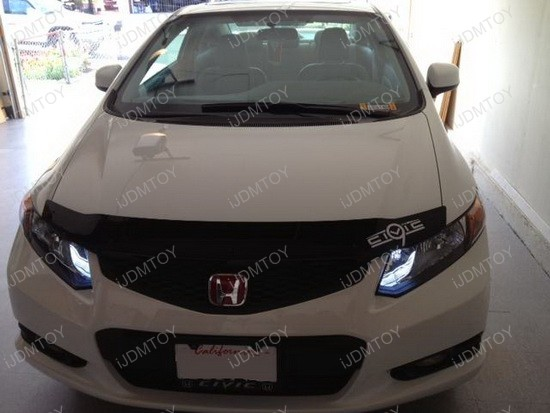 Honda Civic High Beam LED DRL 2