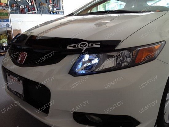 Honda Civic High Beam LED DRL 3
