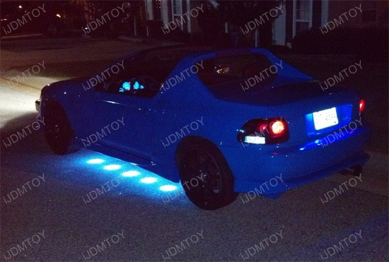 Honda Del Sol Puddle LED Undercar Kit 1