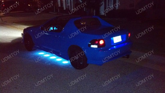 Honda Del Sol Puddle LED Undercar Kit 2