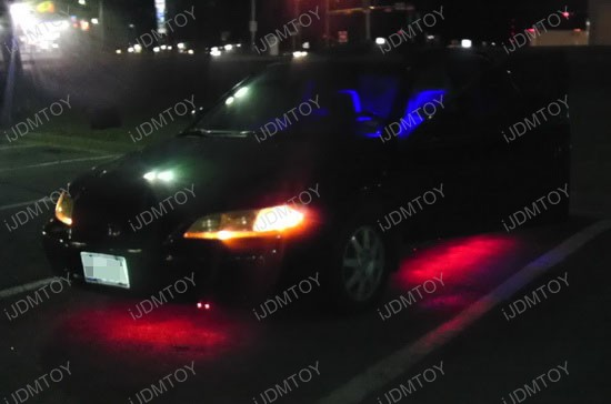 Honda Accord LED Ground Effect RGB Strip Lights 4