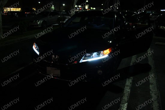 Honda Accord LED Running Lights 4